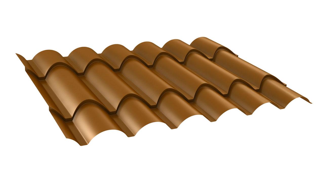 Chapa teja coppo paneles ebro for Chapa imitacion teja sin aislamiento