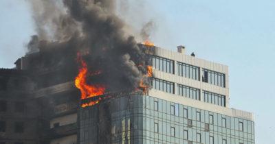 Edificio Ardiendo