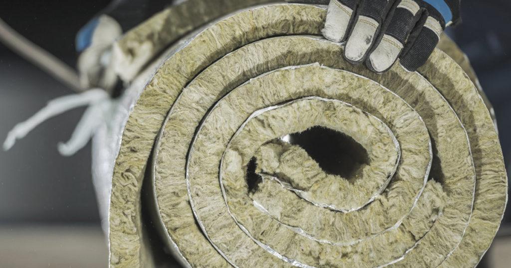 Rollo lana de roca